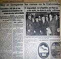 Los Andes, día inaugural de la UNCuyo.jpg