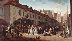 Louis-Léopold Boilly: The Arrival of the Stagecoach