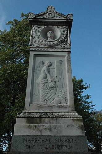 Louis-Gabriel Suchet - Suchet's grave in Paris's Père Lachaise Cemetery