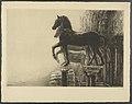 Louise Danse - Le quadrige de Saint Marc, à Venise - Graphic work - Royal Library of Belgium - S.V 19430.jpg