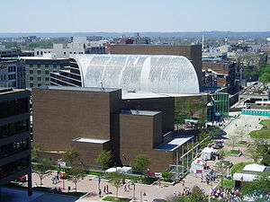 The Kentucky Center - The Kentucky Center building