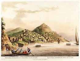 Luigi Mayer The Harbor At Cacamo