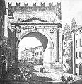 Luigi Rossini, L'Arco d'Augusto, 1836 (Ravenna, Biblioteca Classense).JPG