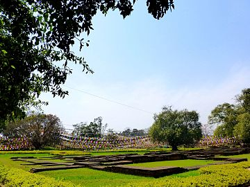 Lumbini - Building Foundations, Lumbini (9244159406).jpg