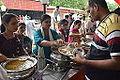 Lunch Distribution - Rawatpura Sarkar Ashram - Chitrakoot - Satna 2014-07-05 6426.JPG