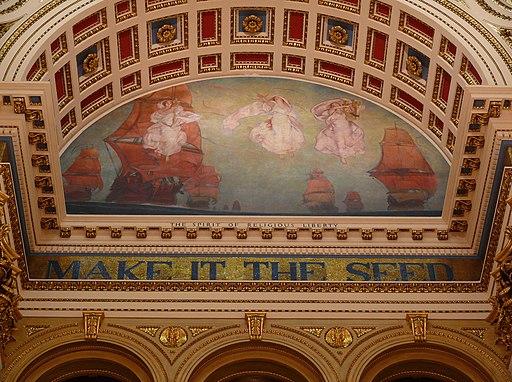 Lunette Rotunda Pennsylvania State Capitol 2