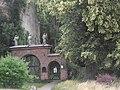 Lunow ( Brandenburgia ) - brama starego cmentarza - panoramio.jpg