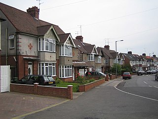 Biscot human settlement in United Kingdom