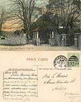 Lych Gate, Rustington Church, John White postcard, sent 1905 01.jpg