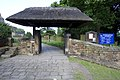 Lychgate of Ss Peter and Paul's Church, Old Brampton, Derbyshire.jpg