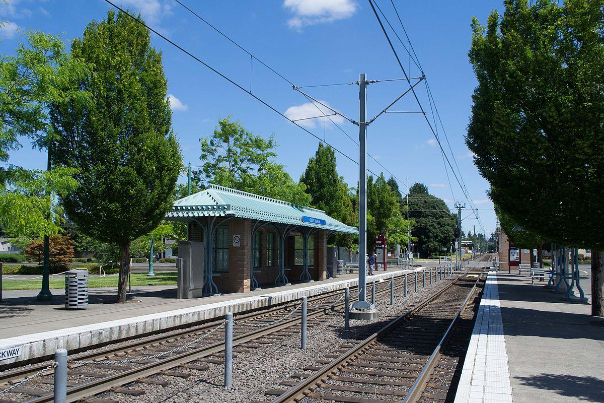 Gresham City Hall station - Wikipedia