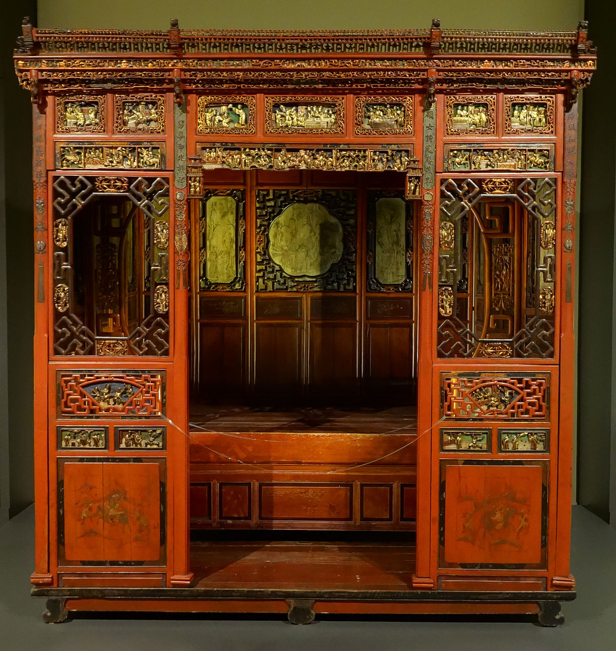 Chinese furniture wikipedia for Wood in chinese