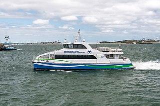 MBTA boat Ferry service in Massachusetts