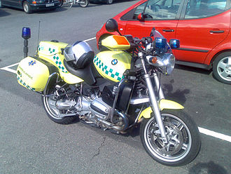 Nontransporting EMS vehicle - Prehospital motorcycle from Oslo, Norway