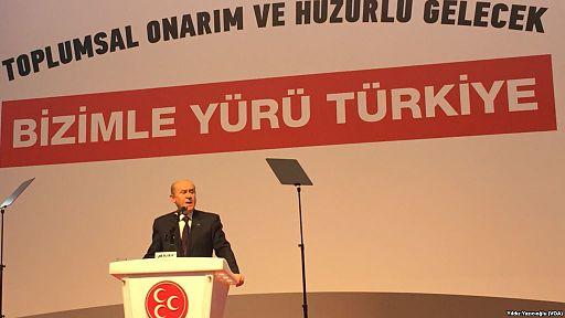 MHP Devlet Bahçeli 2015 manifesto