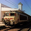MOROCCAN RAILWAYS ELECTRIC LOCOTIVE AT CASA BLANCA VOYGUERS GARE MOROCCAN APRIL 2013 (8709702941).jpg