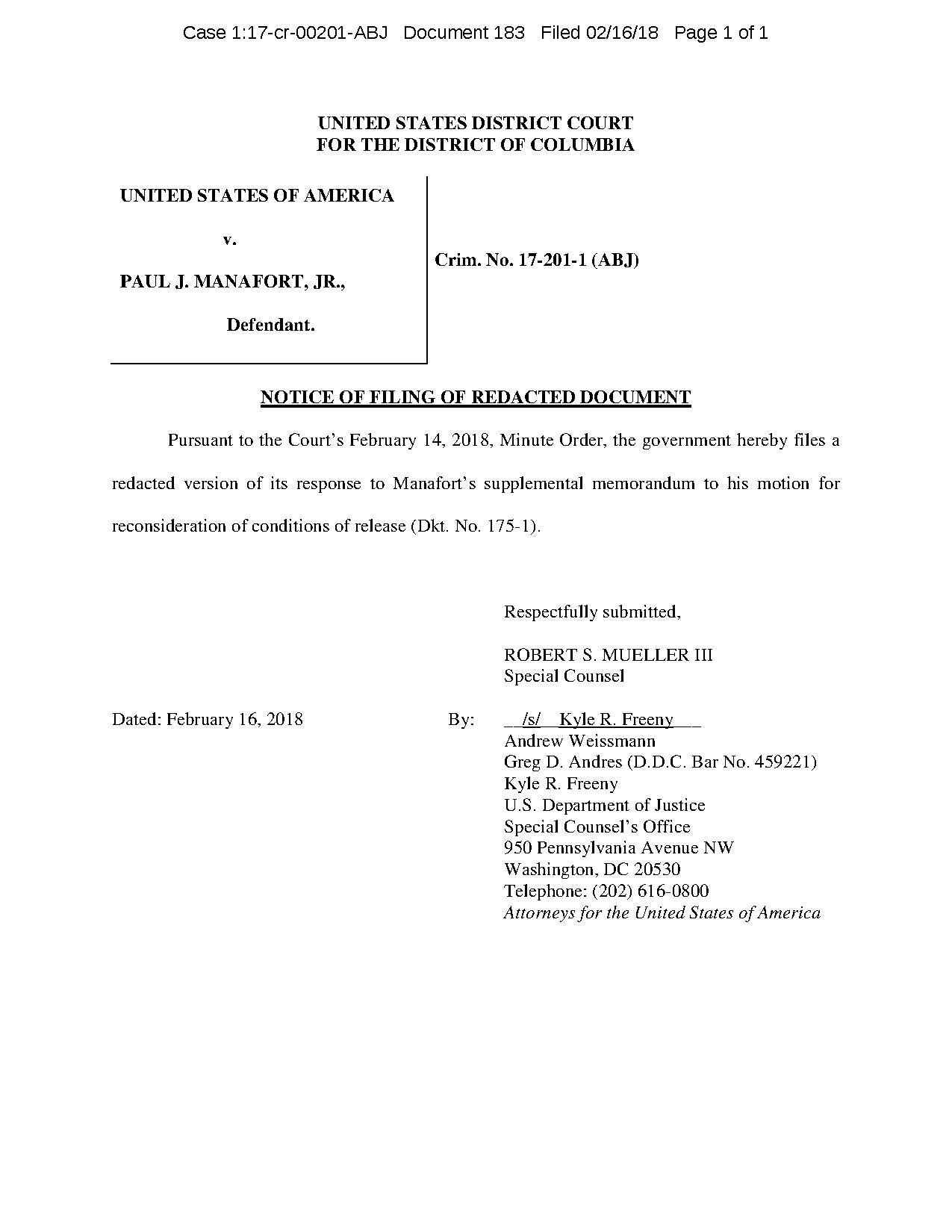 file motion for reconsideration of conditions of release pdf