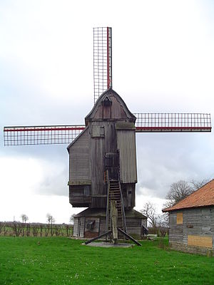 Wormhout - Wormhout wind mill