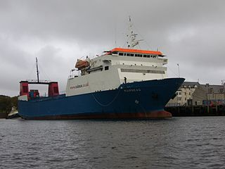 MV <i>Muirneag</i> cargo ferry