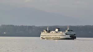 MV Tacoma - Image: MV Tacoma in the sunset