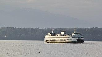 MV Tacoma - Image: MV Tacoma in the sunset