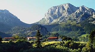 Mañaria Municipality in País Vasco, Spain