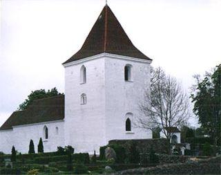 Mårslet Village in Midtjylland, Denmark