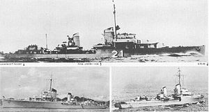 German World War II destroyers - Image: Maas 1