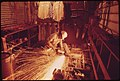 Machinery Being Repaired at a Cedar Mill near Leakey, Texas and San Antonio, 12-1973 (3703578277).jpg