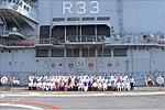 Maharashtra CM, MPs, MLAs and senior Maharashtra Government functionaries onboard INS Vikramaditya.jpg