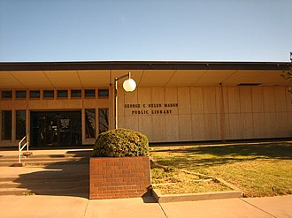 George H. Mahon - The George and Helen Mahon Library in downtown Lubbock