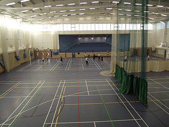 St Bede's School, Eastbourne - Inside the modern Multi Purpose Hall at the Senior School