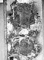 Maison dite de Nicolas Flamel - Détail de la façade, Personnage tenant un phylactère - Paris - Médiathèque de l'architecture et du patrimoine - APMH00015950.jpg