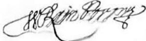 William Rainsborowe - Image: Major William Rainsborrowe sig