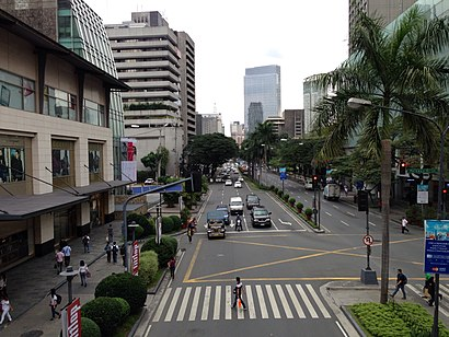 How to get to Makati Avenue with public transit - About the place