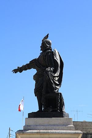 Pietro Paolo Floriani - Monument to Pietro Paolo Floriani erected in 2009 at Floriana, Malta