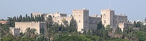 Rhodes - Palace of the Grand Master in the city of Rhodes