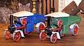 Mamod Steam wagons from 1988 and 1973.jpg
