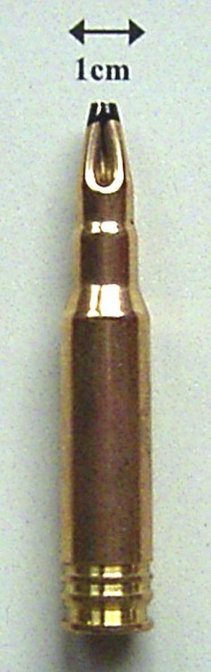 Blank (cartridge) - A 7.62×51mm NATO blank cartridge