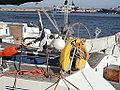 Man-overboard rescue device aboard St. Iv Lennusadam Tallinn 5 October 2013.JPG