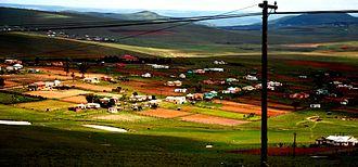 Qunu - Image: Mandela Residence in Qunu