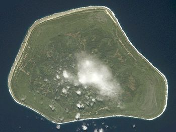NASA astronaut image of Mangaia Island (Cook I...