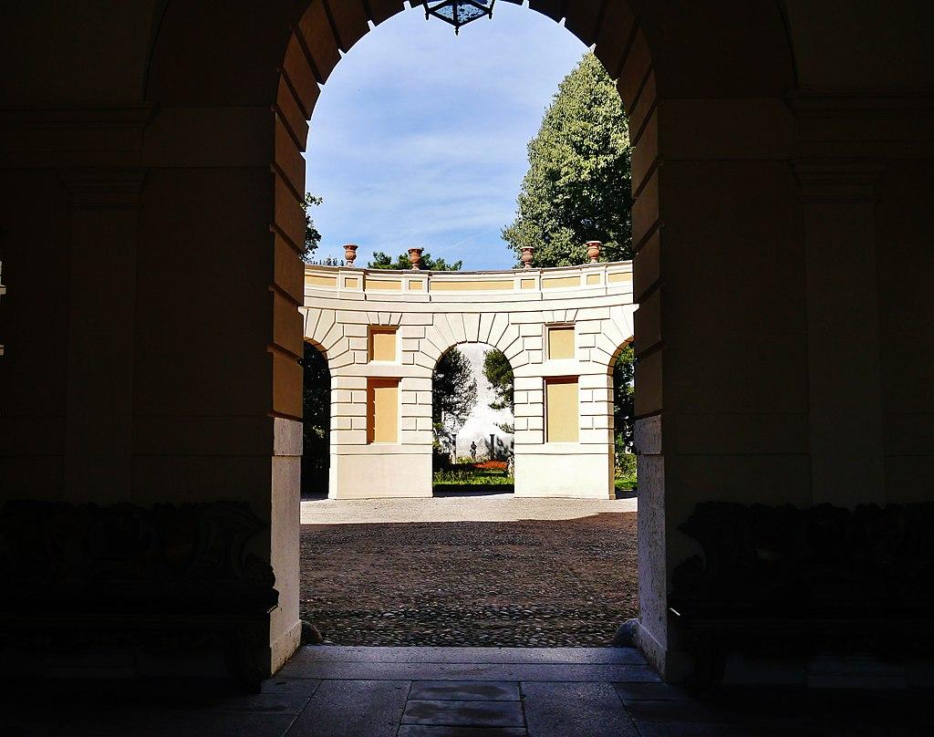 Mantova Palazzo d'Arco Innenhof 1