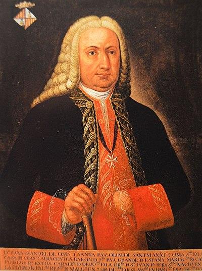 Retrato de Manuel de Oms.