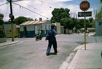 Mao, Dominican Republic - Street in Mao