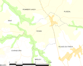 Map commune FR insee code 22269.png