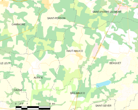 Map commune FR insee code 40122.png
