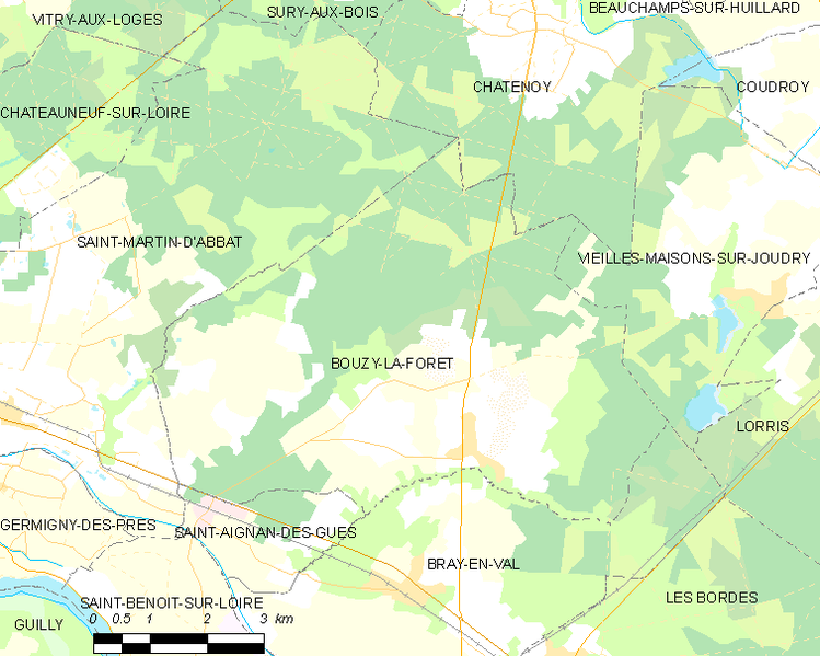 Archivo:Map commune FR insee code 45049.png