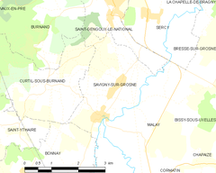 Map commune FR insee code 71507.png