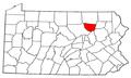 Map of Pennsylvania highlighting Sullivan County.png